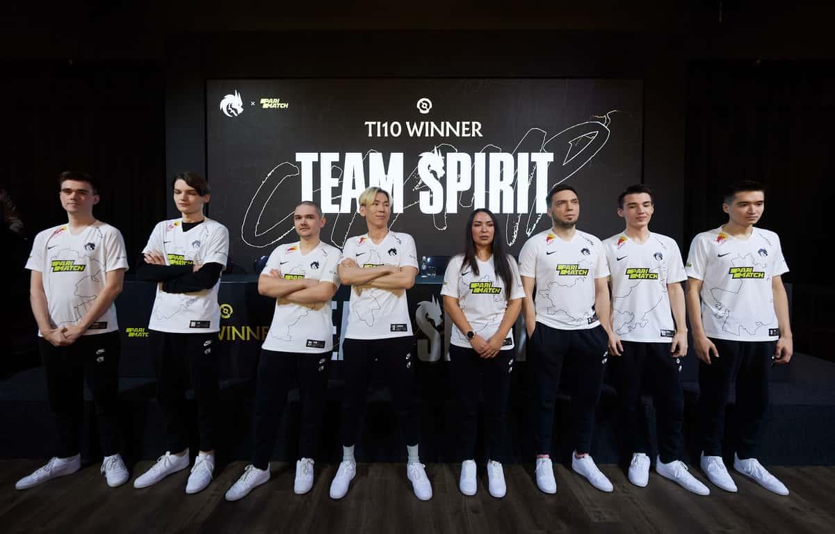 Состоялась первая пресс-конференция Team Spirit в статусе чемпионов The International 10