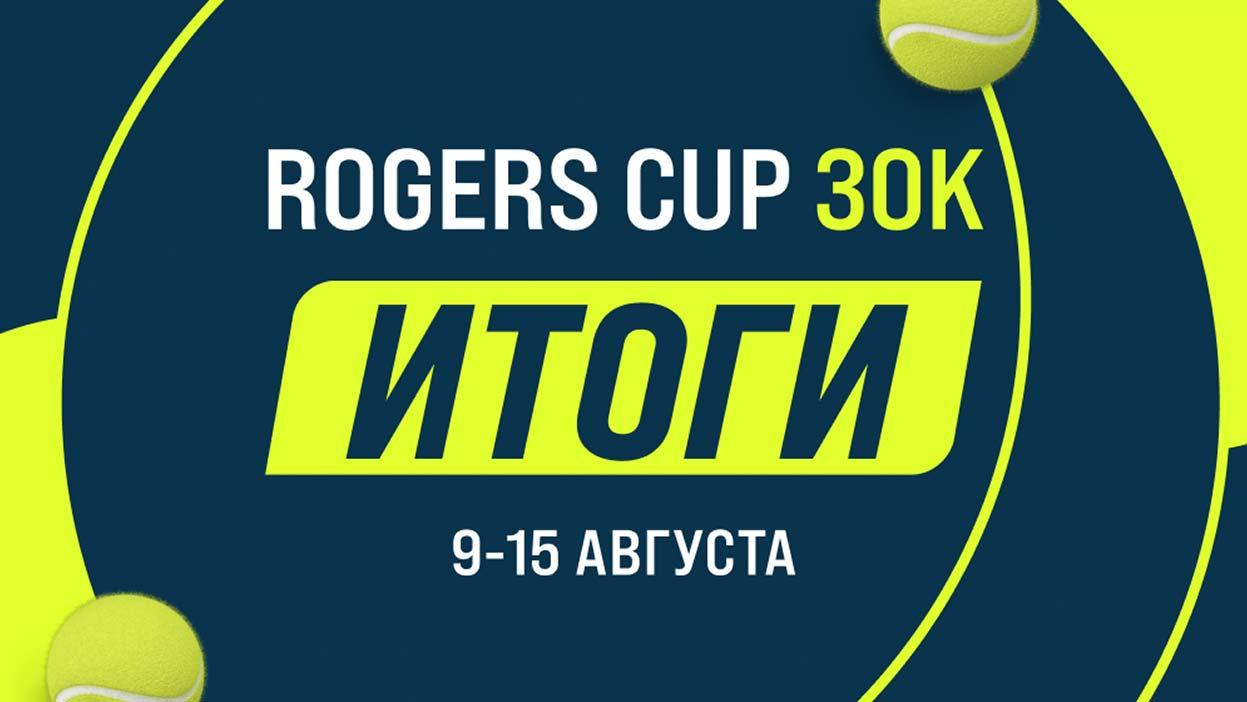 Драматичная развязка в финале конкурса Rogers Cup с призовым фондом 30 000 рублей!