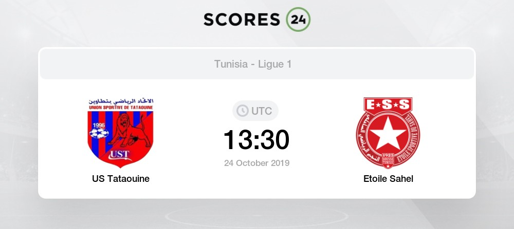 Us Tataouine Etoile Sahel 24 October 2019 Events Result
