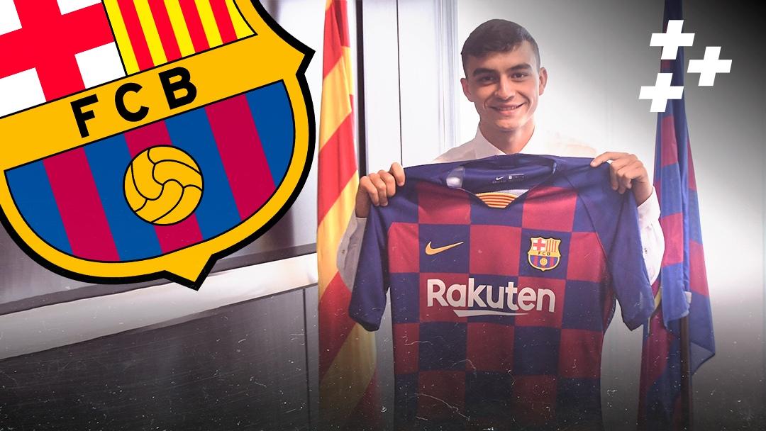 """Мы уже знаем, кто станет новым Месси. """"Барселона"""" приобрела 16-летнюю жемчужину"""