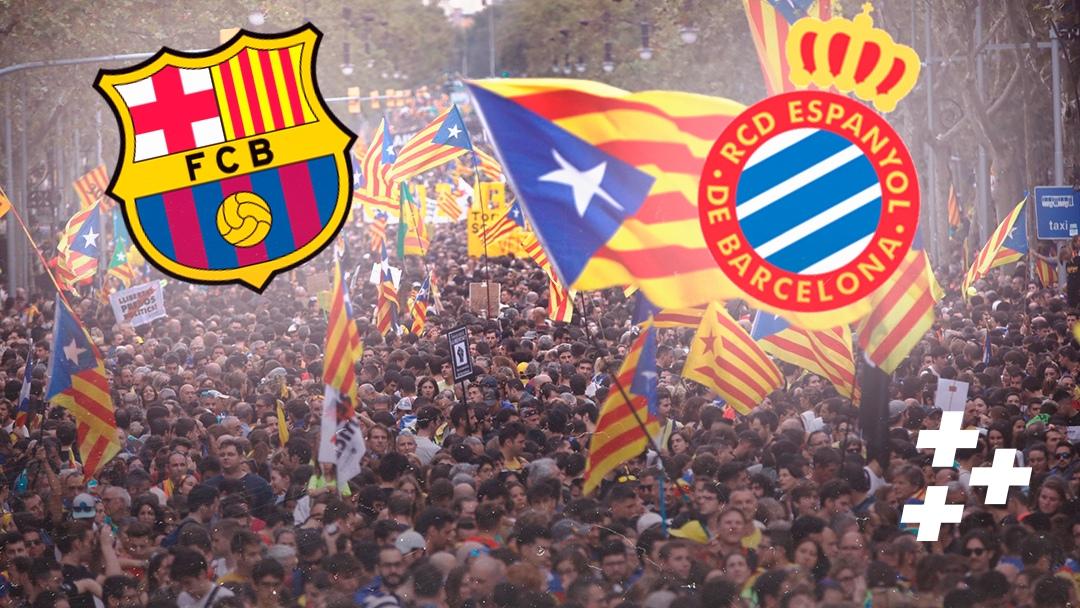 """Футбол не вне политики. Как протесты в Каталонии влияют на """"Барсу"""" и """"Эспаньол"""""""