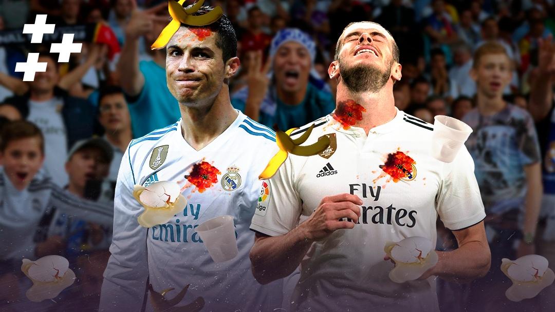 """Фанаты """"Реала"""" ненавидят не только Бэйла. Раньше они хейтили даже Роналду"""