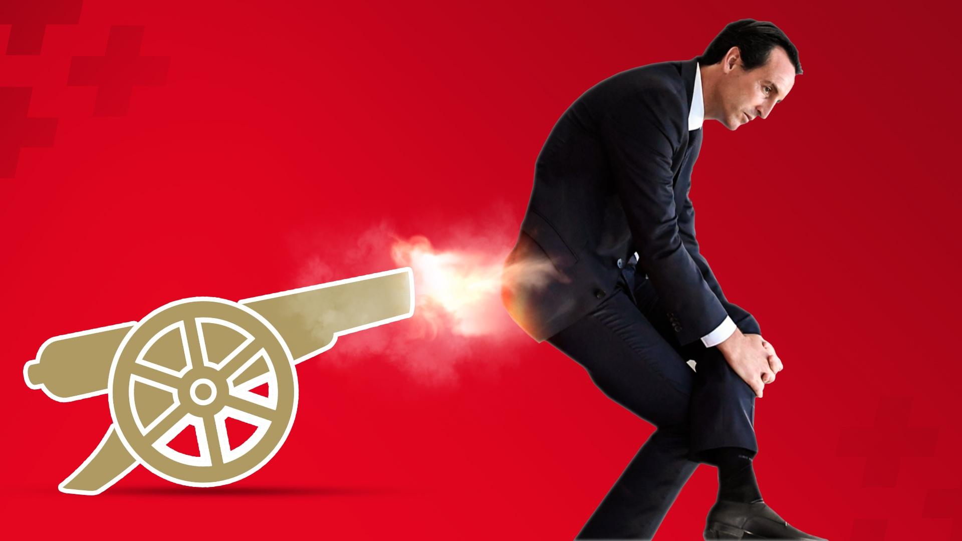 """Эмери выкинули из """"Арсенала"""". Он превратил игру команды в посмешище"""