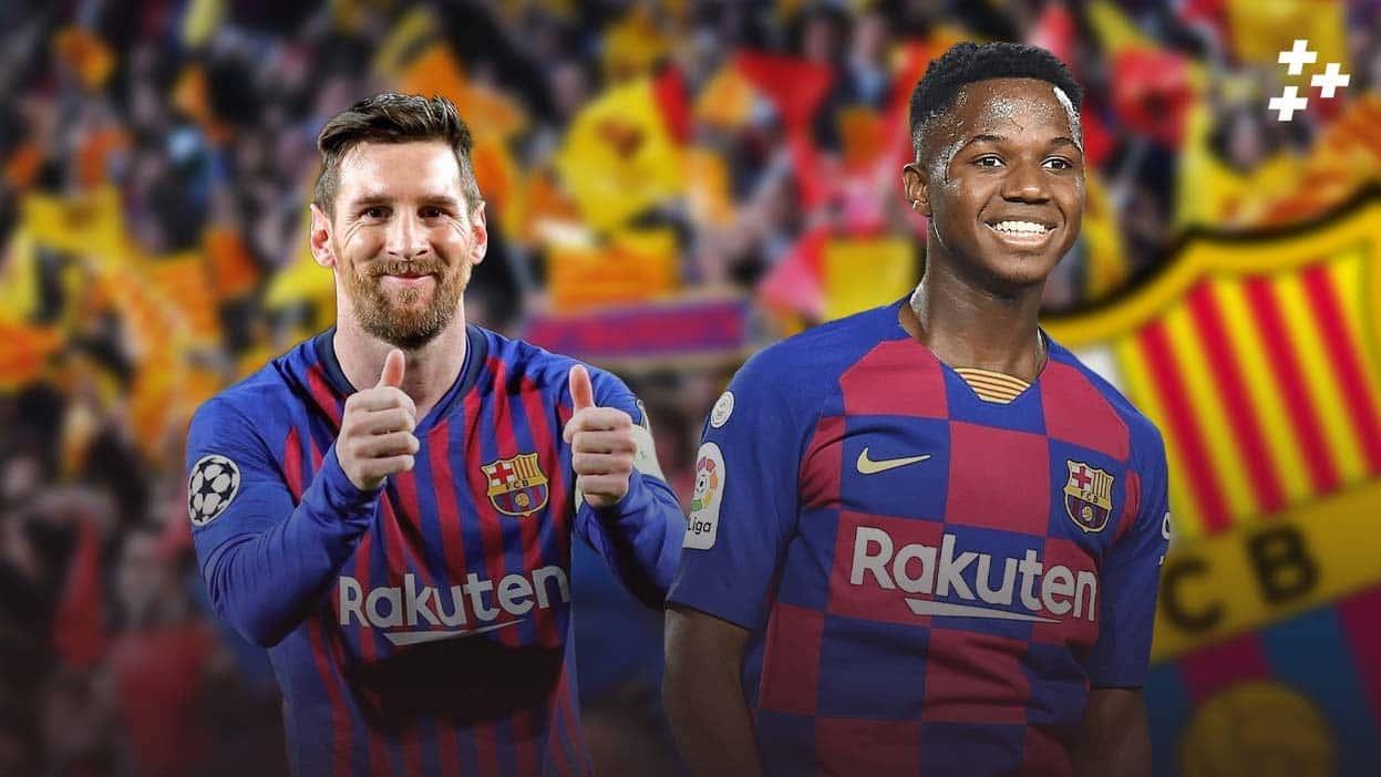 """Революция в """"Барселоне"""". Здесь уйма молодых талантов, которые скоро заменят Месси"""