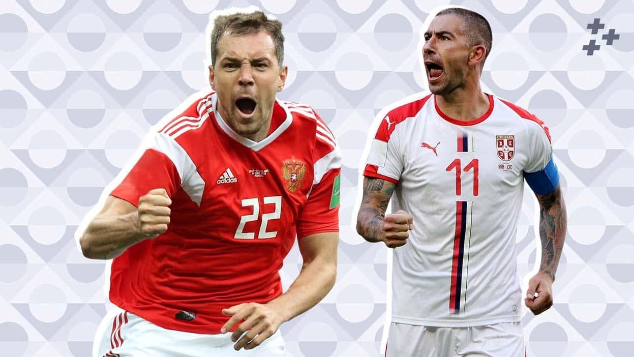 Прогнозы на матч Россия — Сербия в Лиге наций. Много ударов и мало карточек