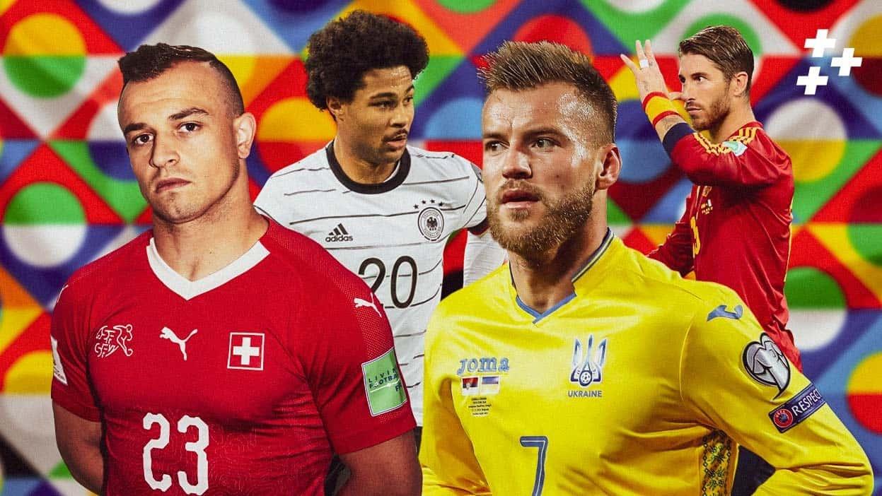Много ЖК матче Германия — Швейцария, угловые в игре Украина — Испания. Прогнозы на Лигу наций