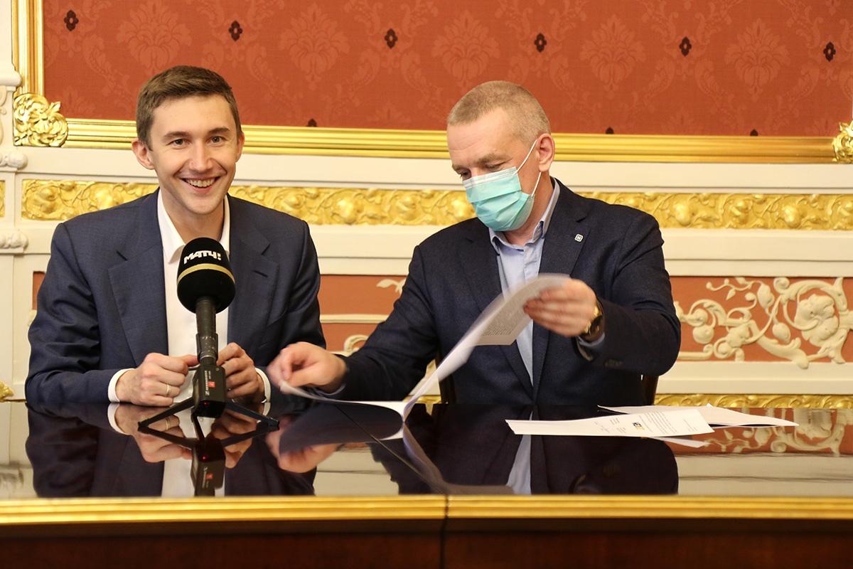 "Шахматист Карякин и ""Мелбет"" заключили спонсорское соглашение"