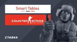 Smart Tables запускает первый в мире сервис для анализа букмекерских линий по CS:GO