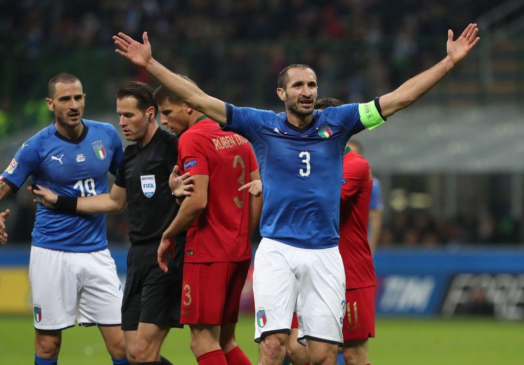 Такие же надежные, как Кьеллини. Прогнозы на матчи Италии, Испании и Бразилии